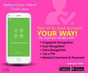 MCFCU App - Sign into your Account on the app Ad Promo
