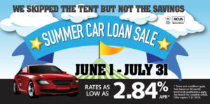 Summer Car loan Sale 2019 promo graphic