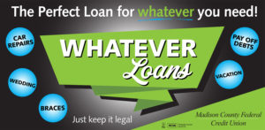 Whatever Loans - the perfect loan for whatever you need.